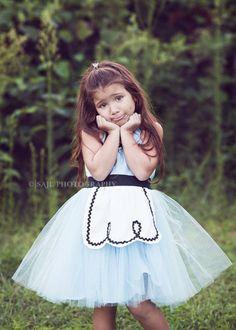 Vestido Infantil festa temática | Alice no País das Maravilhas ETSY