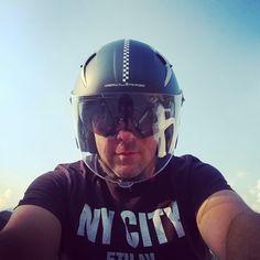 Me and my helmet
