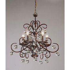 Love this chandelier #GElighting