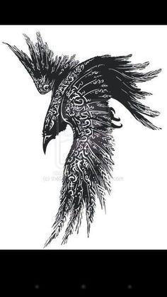 Complete Celtic Raven Tattoo Design -Read Complete Celtic Raven Tattoo Design - Raven tattoo Tribal Crow Tattoo Design More New Tattoo Feather Geometric Design Ideas Thousands ideas which viking tattoo to choose and what is its meaning Getting a Vikin. Celtic Raven Tattoo, Norse Tattoo, Celtic Tattoos, Viking Rune Tattoo, Ancient Tattoo, Tattoo Symbols, Raven Tattoo Meaning, Celtic Tattoo For Women, Wiccan Tattoos