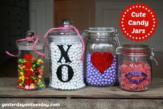80 Best Mason Jars Valentine S Day Images On Pinterest Valentine