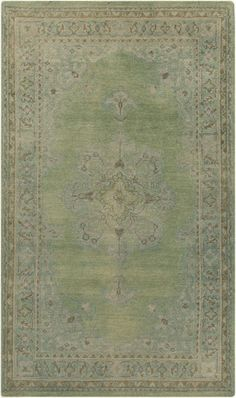 The Haven Collection features rugs that have been hand knotted and washed for a soft subtle look. New from Surya. (HVN-1222)