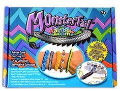 Monster Tail Mini Loom Bracelet Monster Tail http://www.amazon.com/dp/B00J7PI4MU/ref=cm_sw_r_pi_dp_RXO5tb0QX3SVN