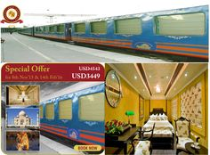Special offer on royal rajasthan on #wheels #luxury #train  from official site http://www.classicrailjourneys.com