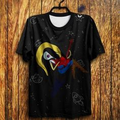 Camiseta  Marceline Guitar - Hora de aventura