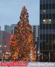 Merry Christmas and Happy Holidays from Reno, Nevada.