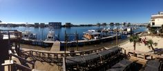 Nice view from Boshamps on the Harbor.