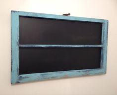 Antique Window Frame Chalkboard on Etsy, $39.99