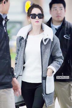 #Yoona#윤아 #ユナ #SNSD #少女時代 #소녀시대 #GirlsGeneration 151101 Incheon Yoonaya