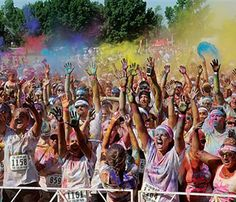 12 Fitness Trends We Loved in 2012 // The Color Run © AP Images