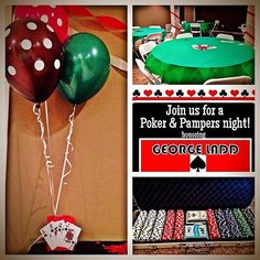 Pampers and Poker- Dadchelor Party Casino Theme Parties, Casino Party, Party Themes, Casino Night, Party Ideas, Beer Mac And Cheese, Diaper Parties, Poker Party, Vegas Party