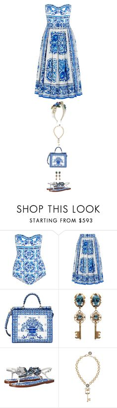 """Untitled #473"" by redx1202 ❤ liked on Polyvore featuring Dolce&Gabbana"