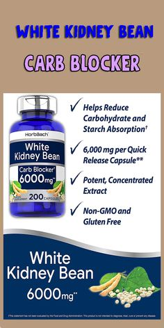 WHITE KIDNEY BEAN: A potent herb widely utilized in supplement form for maximum support OPTIMAL EXTRACT: Contains the equivalent of 6,000 mg of White Kidney Bean per serving EXPERTLY CRAFTED: Our professional formula is backed by our commitment to purity and potency! work out,fitness diet,exercise,eat fit,fit bodie,how to get fit,fitness quots,White Kidney,Carb Blocker,weight loss,fitness, Weight Loss Workout Plan, Yoga For Weight Loss, Weight Loss Meal Plan, Weight Loss Program, Healthy Weight Loss, Healthy Food, Glute Isolation Workout, White Kidney Beans, Carb Blocker