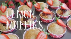 Today I'm sharing my favourite lemon muffin recipe with you. These muffins are totally oil-free, vegan and taste just like the real deal. They are perfect to. Muffin Recipes, My Recipes, Vegan Recipes, Lemon Muffins, Caramel Apples, Food Videos, My Favorite Things, Desserts, Oil