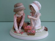"""Holly Hobbie Figurine """"Sweet Joys"""" Precious Moments Collection Series IV"""