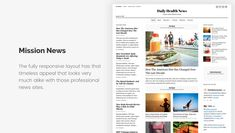 15+ Free Minimalist WordPress Themes and Templates for Blogs of 2020 Blogger Templates, Templates Free, Minimalist Wordpress Themes, American Diet, Bbc America, Responsive Layout, News Sites, Blogger Themes, Wordpress Free