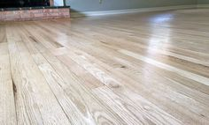 These gorgeous red oak floors were refinished by Sheaves Floors LLC with General Finishes Pro Image Natural Oak Flooring, Diy Wood Floors, Rustic Wood Floors, White Wood Floors, Refinishing Hardwood Floors, Oak Hardwood Flooring, Flooring Ideas, Wood Walls, Laminate Flooring