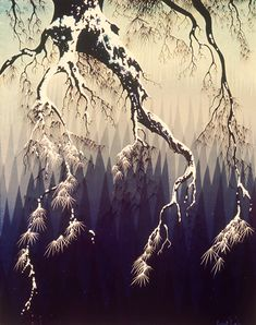Eyvind Earle®, first snow