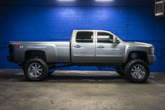 RARE! Fully custom Lifted Duramax diesel 2007 Chevrolet Silverado 2500HD LT 4x4 Lifted Truck For sale
