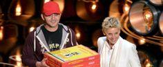 Ellen DeGeneres Gives Oscars Pizza Delivery Man $1,000 Tip Classy!