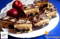Olga-almás szelet recept   Tutirecept Viera, Tiramisu, Ethnic Recipes, Food, Essen, Meals, Tiramisu Cake, Yemek, Eten