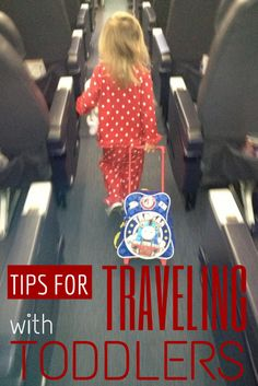 Tips for Traveling with Toddlers | How to keep a young child or toddler occupied on a plane or in a car | What to do to keep a toddler busy on a road trip or plane trip.