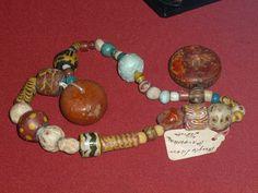Early Anglo-Saxon bead set, Faversham, Kent. Photograph courtesy of Lindsay Kerr.