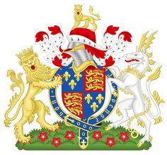 Henry VI of England - Wikipedia, the free encyclopedia. Coat of arms of King Henry VI Uk History, Ancient History, Tudor History, British History, Family History, Catherine Of Valois, Margaret Of Anjou, Dutch Princess, England