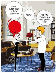 La Saint Valentin - Relation amoureuse - Fleur de Mamoot