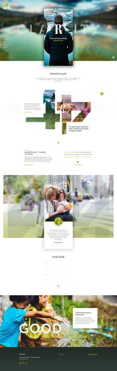 4 Good – Unused Ui design concept by Elegant Seagulls.