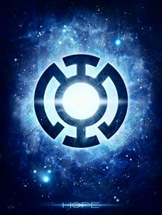 Inspired by the DC universe of the Green Lantern, this print represents the blue light of hope and features the symbol of the Blue Lantern Corps. Blue Lantern Ring, Blue Lantern Corps, Lantern Rings, Dc Comics, Los Super Once, Green Lantern Wallpaper, Lantern Tattoo, Batman, Superman Logo