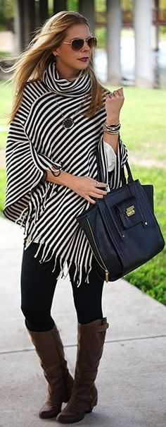 Fabulous collection of ponchos design ideas for stylish modern girls (9)