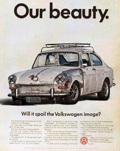 Take a trip in a VW (bug or van)