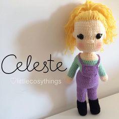 Celeste - a soft handmade crochet doll, toy or keepsake heirloom by LittleCosyThings on Etsy https://www.etsy.com/listing/220293493/celeste-a-soft-handmade-crochet-doll-toy