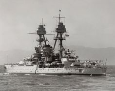 USS Oklahoma (BB-37), the only ship of the United States Navy to ever be named for the 46th state , was a World War I -era battleship. USS Oklahoma (BB 37) 2 May 1916 / 1 Sep 1944 Oklahoma was sunk at Pearl Harbor on 7 Dec 1941. Raised, she entered drydock 28 Dec 1943. Stripped of guns and superstructure, she was sold 5 Dec 1946 to Moore Drydock Co., but sank 17 May 1947 540 miles from Pearl on her way to San Francisco. -