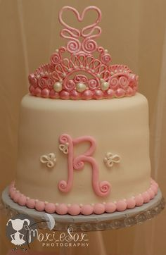 Beautiful princess cake