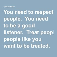 need and respect Expert reviewed how to respect yourself four parts: getting in the right mindset taking action with yourself interacting with others being good for yourself community q&a developing a strong sense of self-respect can help you fulfill your potential, develop healthy relationships, and make everyone around you see you as a person who is worthy of respect.