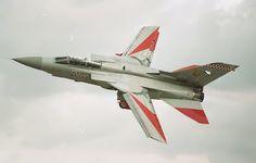 Raf Tornado at tje Yeovilton airday 1994  by proberts3, via Flickr
