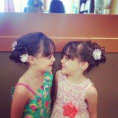 flower girls  @stylist_amber_m on twitter