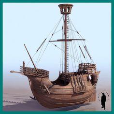 CATALAN SHIP XV century