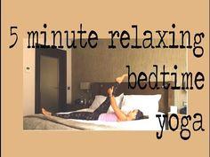 5 Minute Before Bed Yoga — YOGABYCANDACE