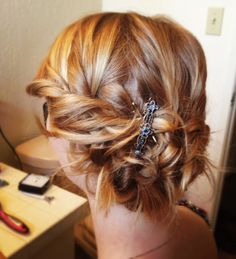 chic prom updos for long hair