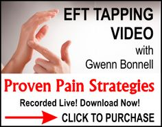 Order Your Proven Strategies for Tapping Away Pain with EFT Live Workshop Replay