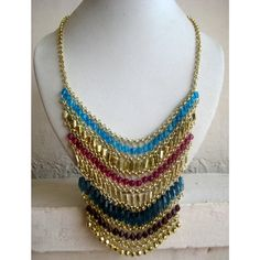 Statement Necklace/Long Necklace/Chunky Necklace/Bib by FootSoles, $24.90