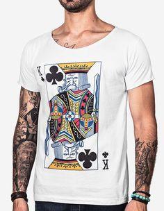 0559588c13 Camisetas estampadas e florais garbosas. Pólos e camisas masculinas.