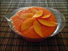 pomerančovo nektarinkový puding