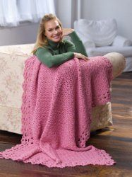 Pink Raspberry Throw