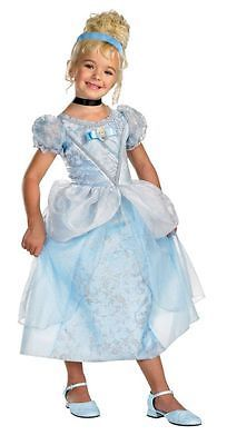 Halloween Costumes Kids: Childrens Girls Disney Cinderella Deluxe Child Fancy Dress Costumes - 7 8 -> BUY IT NOW ONLY: $35.99 on eBay!