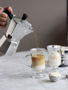 Affogato recipe via