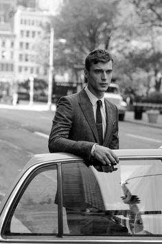 "l-homme-que-je-suis: "" Clement Chabernaud Photographed by Sasha Lytvyn for Gucci Men's Tailoring "" Vintage Gentleman, Dapper Gentleman, Modern Gentleman, Gentleman Style, Gents Hair Style, Mens Tailor, The Fashionisto, Renaissance Men, Men Photography"